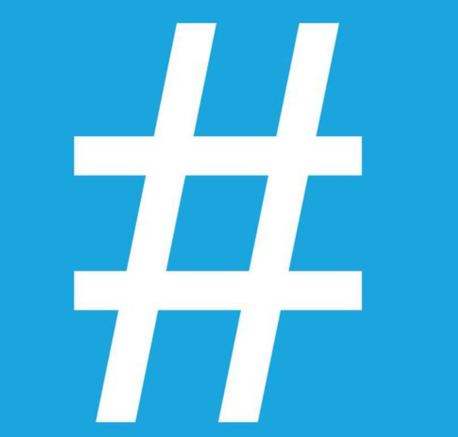 Picture of the hashtag